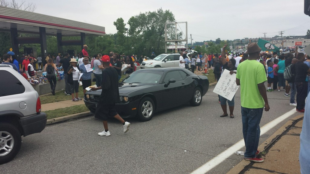 Protests continue at the Quik Trip