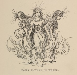 From Real Fairy Folks: Explorations in the World of Atoms, by Lucy Rider Meyer, A.M., 1887