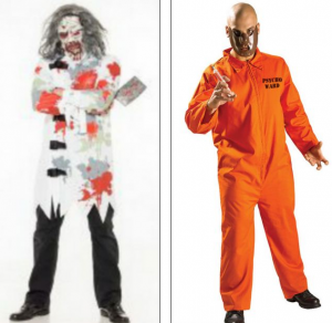 The offending costumes pulled from websites and shelves today.