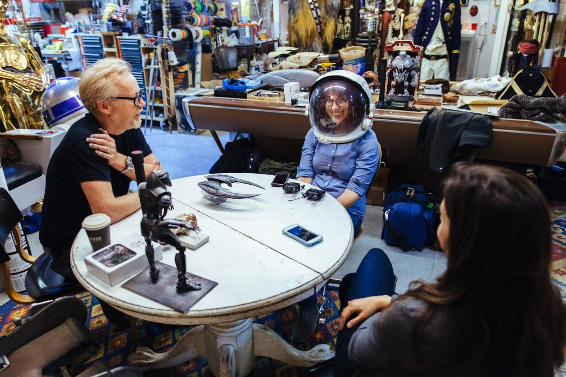 Adam Savage, Rebecca Watson, and Indre Viskontas