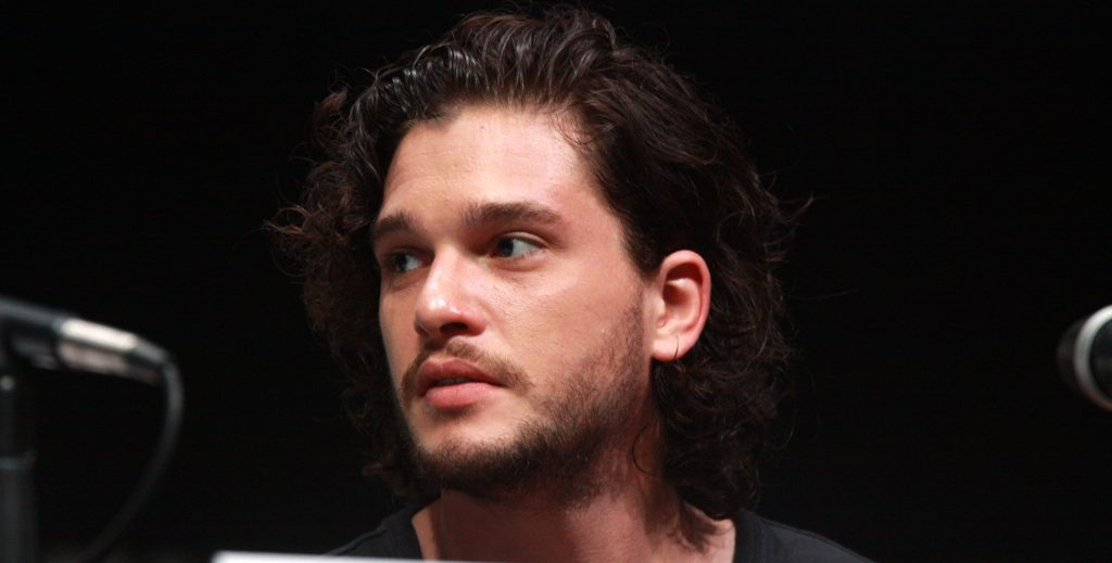 photo of Kit Harrington who played Jon Snow in HBO's Game of Thrones