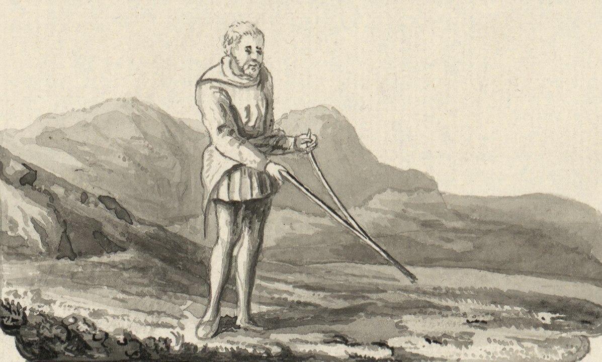 Dowsing in genealogy